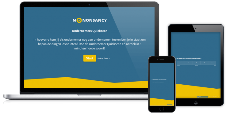 No Nonsancy - Ondernemers Quickscan